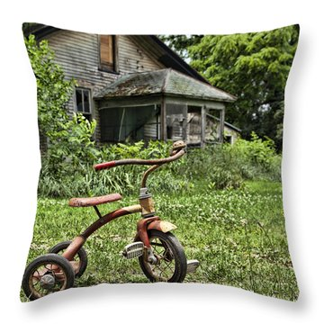 I Want To Ride It Where I Like Throw Pillow by John Crothers