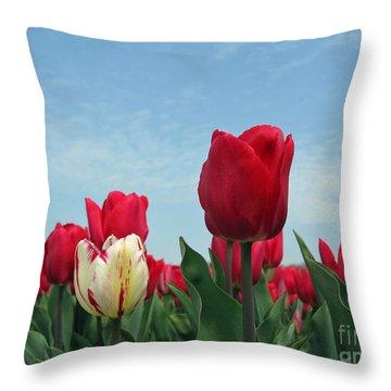 I Was Born Different Throw Pillow by Ausra Huntington nee Paulauskaite