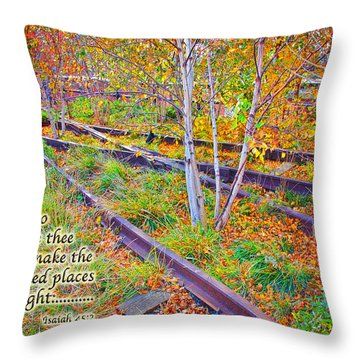 I Will Follow Lord Throw Pillow