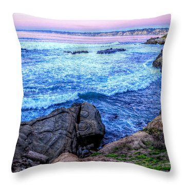 I Will Put You In A Cleft In The Rock Throw Pillow by Sharon Soberon