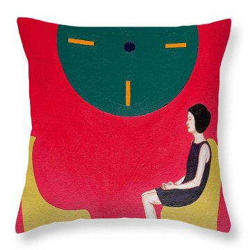 I Will Wait Forever Throw Pillow by Patrick J Murphy
