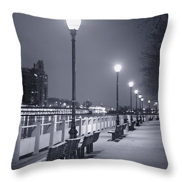 I Wonder As I Wander Throw Pillow