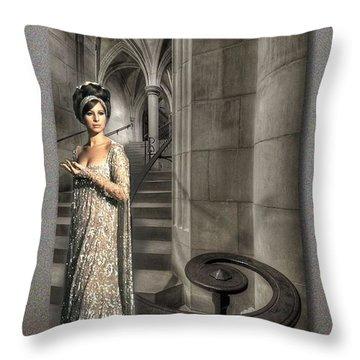 I Wonder As I Wander Throw Pillow