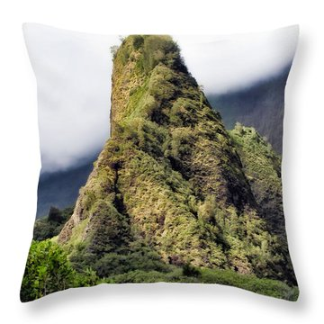 Iao Valley 47 Throw Pillow