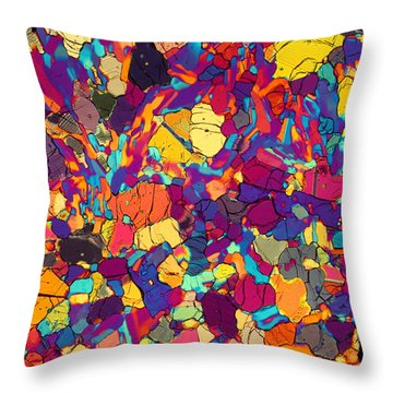 Color Coded Throw Pillow