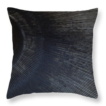 Throw Pillow featuring the photograph Icbm Missile Series - Birth Canal Of The End Of Time by Carolina Liechtenstein