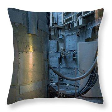 Throw Pillow featuring the photograph Icbm Series 5 by Carolina Liechtenstein