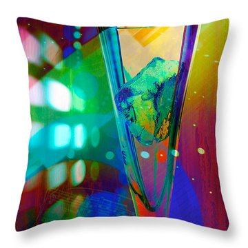 Ice-2 Throw Pillow by Mauro Celotti