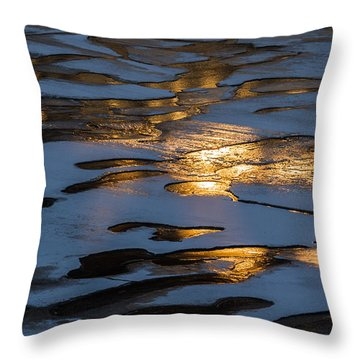 Ice And Fire - Featured 3 Throw Pillow by Alexander Senin