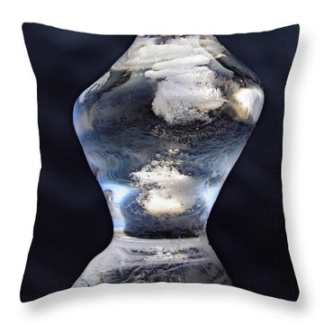 Ice And Water Throw Pillow by Sami Tiainen