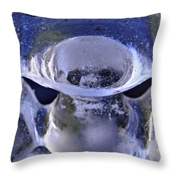 Ice Bowls Throw Pillow