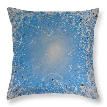 Ice Cold Sun Throw Pillow by John Pimlott