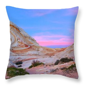 Ice Cream Sunday Throw Pillow
