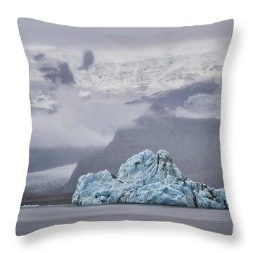 Ice Guardian Throw Pillow