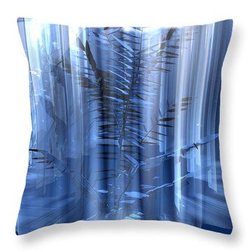 Ice Throw Pillow by John Pangia