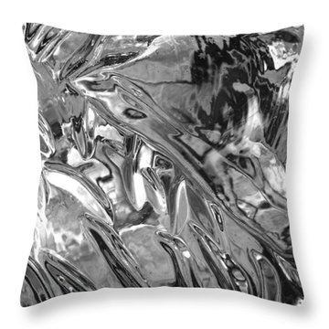 Ice Series 14 Throw Pillow