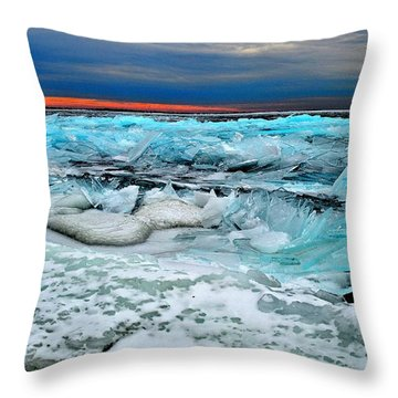 Ice Storm # 14 - Kingston - Canada Throw Pillow