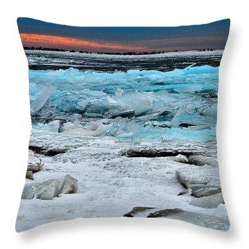 Ice Storm # 17 - Kingston - Canada Throw Pillow