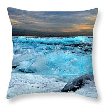 Ice Storm #15 - Kingston - Canada Throw Pillow