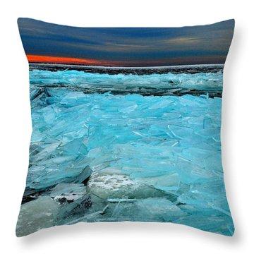Ice Storm #5 - Kingston - Canada Throw Pillow