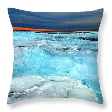 Ice Storm # 9 - Kingston - Canada Throw Pillow