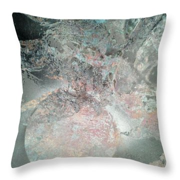 Ice World Throw Pillow
