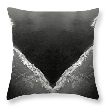 Iced Throw Pillow
