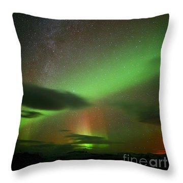 Iceland 5 Throw Pillow