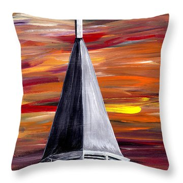 Ich Glaube  Throw Pillow by Mark Moore
