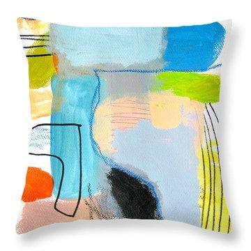 Ici Et La  Throw Pillow
