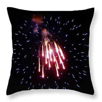 Throw Pillow featuring the photograph Icicles by Amar Sheow