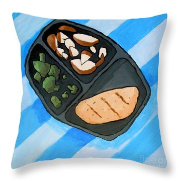 Icon I Throw Pillow