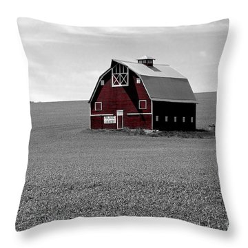 Throw Pillow featuring the photograph Icon Of The Palouse by Sharon Elliott