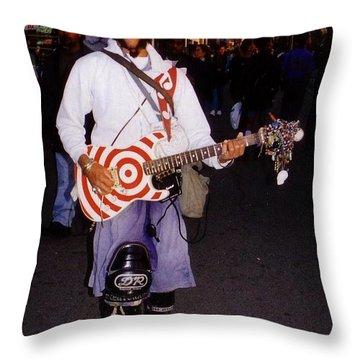 Icon Of Venice Beach California Throw Pillow by Halifax Artist John Malone