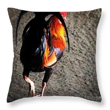 Throw Pillow featuring the photograph Iconic Kauai by Roselynne Broussard