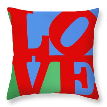 Iconic Love Throw Pillow