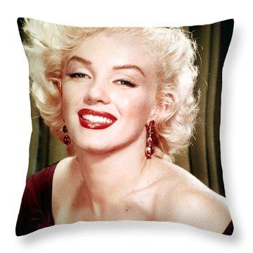 Iconic Marilyn Monroe Throw Pillow