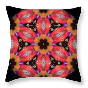 iCube Mandala Throw Pillow