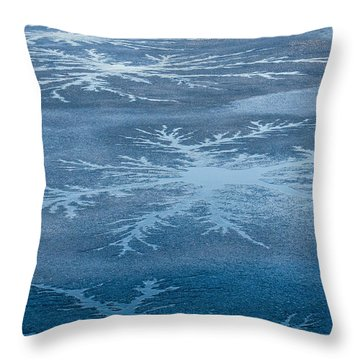 Icy Designs Throw Pillow