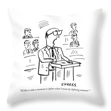 Member Of Congress Throw Pillows