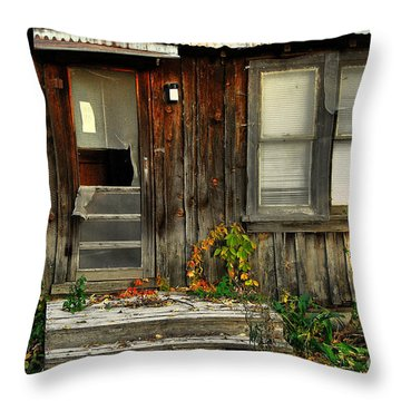 Idaho Retirement Estates Throw Pillow