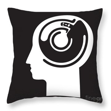 Idee Fixe Throw Pillow