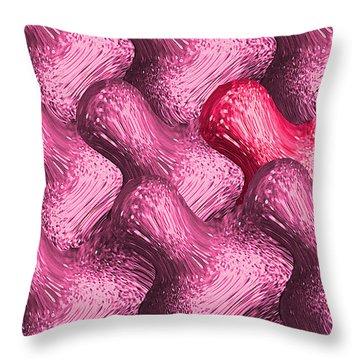 Idiosync Redux 'violetta' Throw Pillow