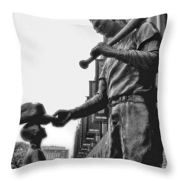 Idol Throw Pillow by Joann Vitali