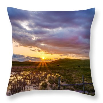 Idyllic Throw Pillow