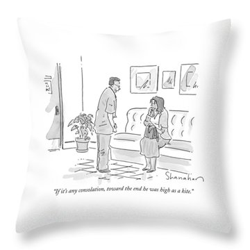 If It's Any Consolation Throw Pillow