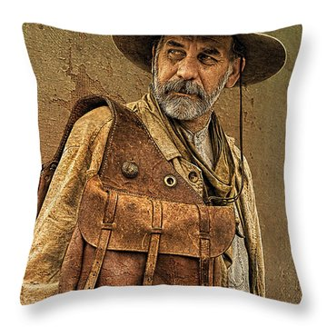If Looks Could Kill Throw Pillow by Priscilla Burgers