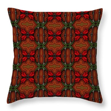 If William Loved Shoes Throw Pillow
