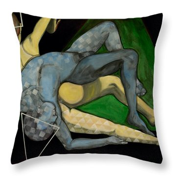 If X Equals Y Throw Pillow