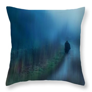 If You Are Leaving Just Leave Throw Pillow